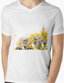 Summer Chamomiles 5 Mens V-Neck T-Shirt
