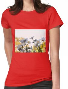Summer Chamomiles 6 Womens Fitted T-Shirt