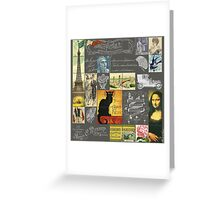 Les Timbres 3 Greeting Card