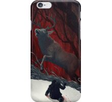 Red Stag iPhone Case/Skin
