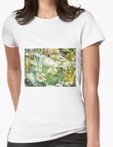 Summer Chamomiles 9 Womens Fitted T-Shirt