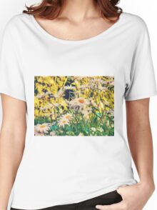Summer Chamomiles 11 Women's Relaxed Fit T-Shirt