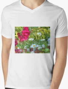 Summer Chamomiles 12 Mens V-Neck T-Shirt
