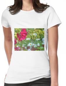 Summer Chamomiles 12 Womens Fitted T-Shirt