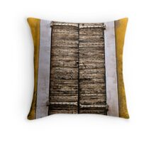 Old shutters... Throw Pillow