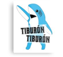 Tiburón Tiburón - Left Shark  - Super Bowl Halftime Shark 2015 Metal Print