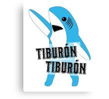 Tiburón Tiburón - Left Shark  - Super Bowl Halftime Shark 2015 Canvas Print