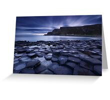 Causeway Twilight Greeting Card