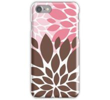 Peony Flowers 007 iPhone Case/Skin