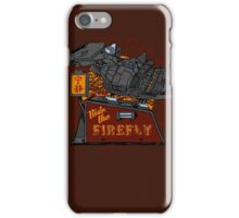 Ride the Firefly iPhone Case/Skin