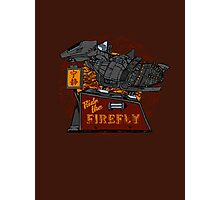 Ride the Firefly Photographic Print