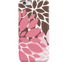 Peony Flowers 008 iPhone Case/Skin