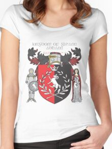 Kingdom of Gleanna Abhann Women's Fitted Scoop T-Shirt