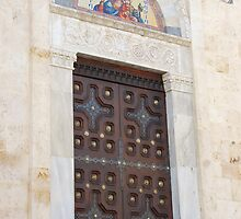 door in Cagliari by briandhay