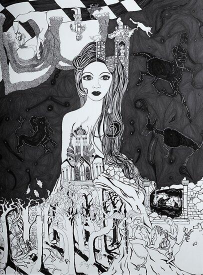 Ars Memoria with Cat by zoequixote