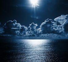 dark blue day by shallay