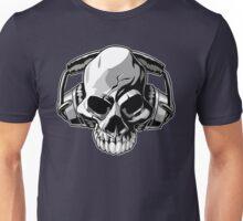 Skull phones Unisex T-Shirt