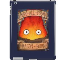 Studio Ghilbi Illustration: CALCIFER #3 iPad Case/Skin