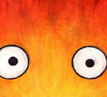Studio Ghilbi Illustration: CALCIFER #3 Sticker