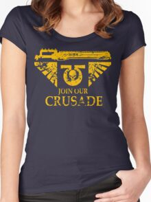 Join Our Crusade Women's Fitted Scoop T-Shirt