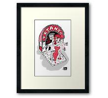 Xochimilco love forever! Framed Print