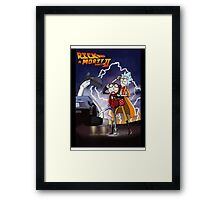 Rick n' Morty: To The Future Framed Print