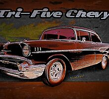 Tri-Five Chevy Wall Rider by ChasSinklier