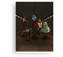 Guardians of the Regular Galaxy Canvas Print