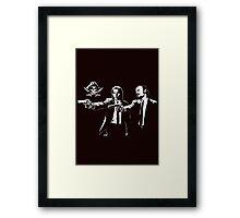Black Sails Mashup Framed Print