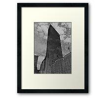 Boston City Art Design Framed Print