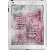 Bigger Shapes 1 2/2 iPad Case/Skin
