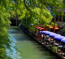 Riverwalk in San Antonio Tx by RolandoFoto