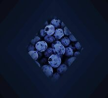 Beneficent Blue Berries by Cuadra