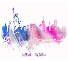 Skyline New York City Photographic Print