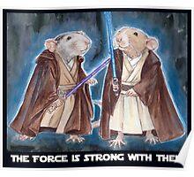 Jedi Yogie Masters Poster