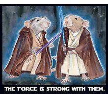 Jedi Yogie Masters Photographic Print