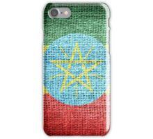 Ethiopia Flag iPhone Case/Skin