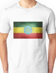 Ethiopia Flag Unisex T-Shirt