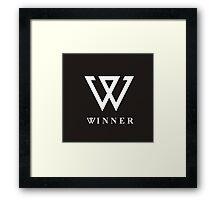 Winner Framed Print