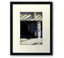 in praise of shadow  Framed Print