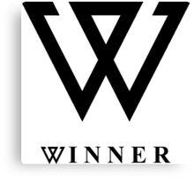 Winner logo Canvas Print