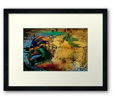 Breaking Free of The Past! Framed Print