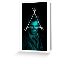 Cohle Greeting Card