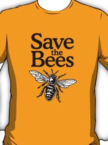 Save The Bees Beekeeper Quote Design T-Shirt