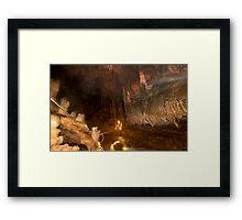 Grutas del Rey Marcos Framed Print
