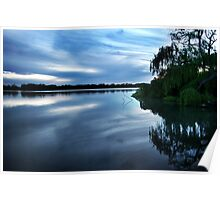 Murray River, Tailem Bend Poster