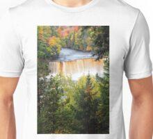 Tahquamenon Falls in Autumn Unisex T-Shirt