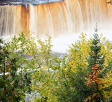 Tahquamenon Falls in Autumn Sticker