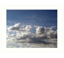 Scenic Sky Art Print