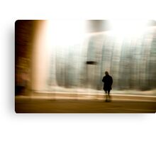 untitled observation (poetry in motion) Canvas Print